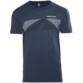 Bikester Logo Shirt T-Shirt blå